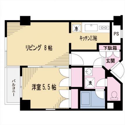 【募集】岩城ビル 403号室