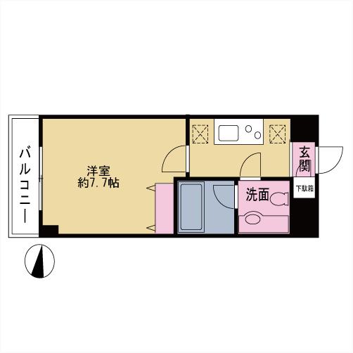 プレミール中延 203号室