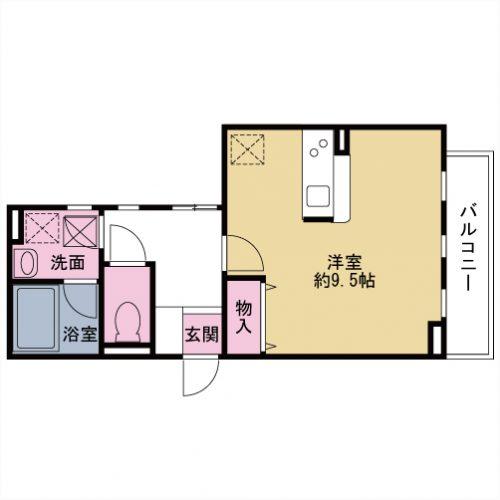 【募集】アンフィニグラン 103号室