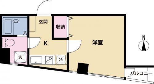 【募集】ひのき烏山ビル 203号室