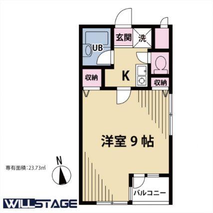 【募集】クオーレ代沢 301号室