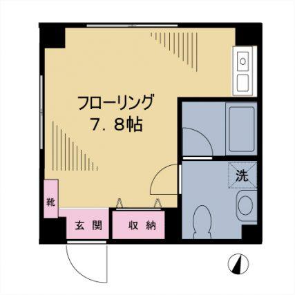【募集】ハイムヤマネ 301号室