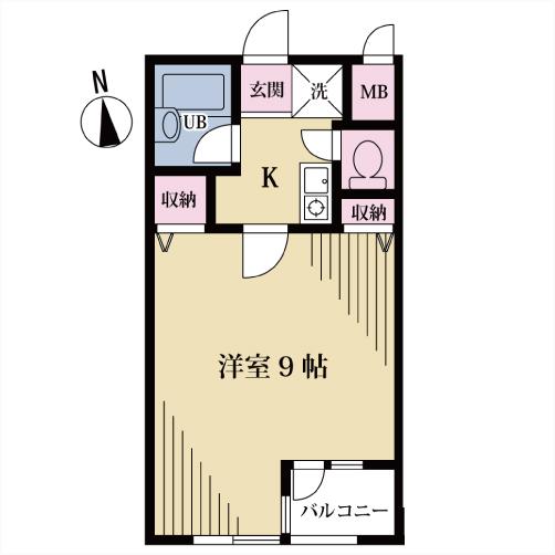 クオーレ代沢 303号室