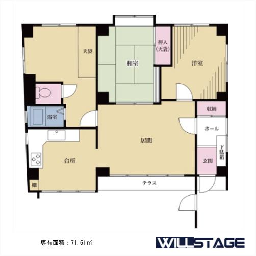 【募集】太郎ハウス 1階