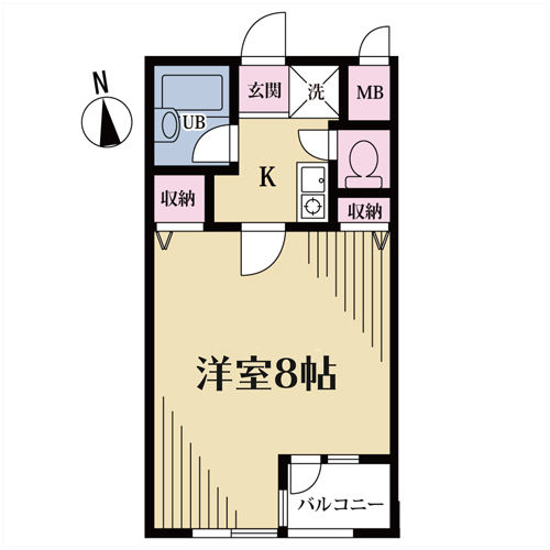 クオーレ代沢 203号室