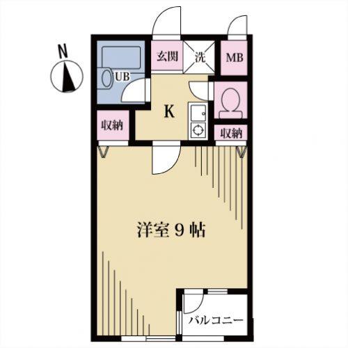 【募集】クオーレ代沢 202号室