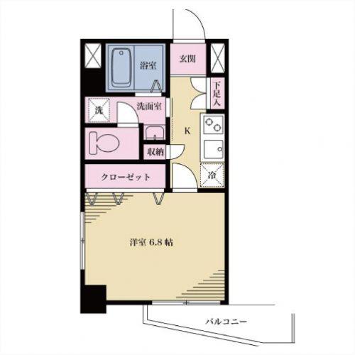 【募集】サニーしもきた2 202号室