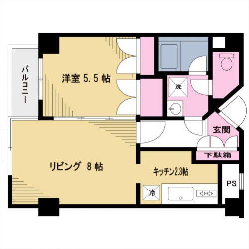 【募集】クオーレ代沢 103号室