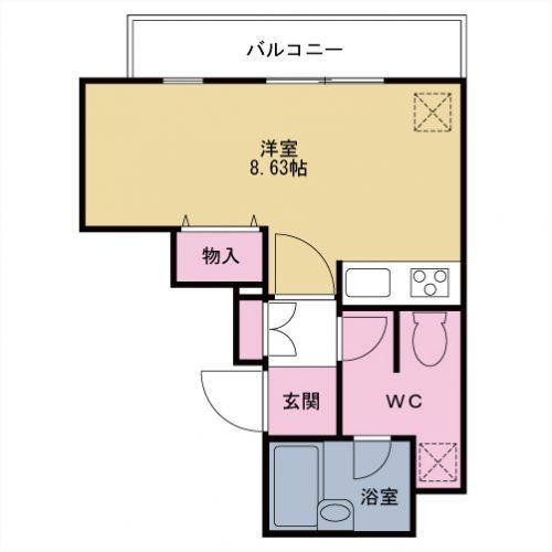 【募集】プレミール中延 404号室