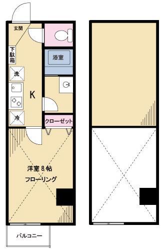 【募集】サニーしもきた1 303号室