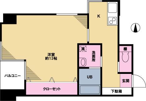 【募集】守山マンション 402号室