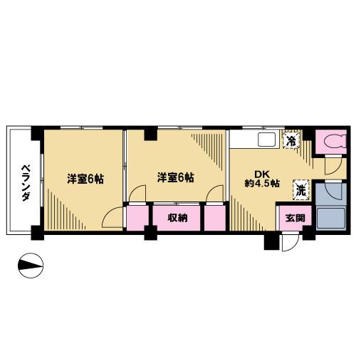 【募集】前田マンション 204号室