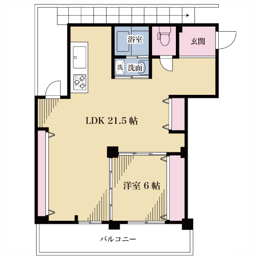 【募集】前田マンション 302号室