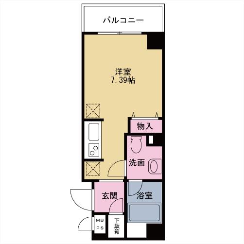 【募集】プレミール中延 305号室
