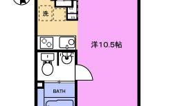 エトワールイスミ 101号室