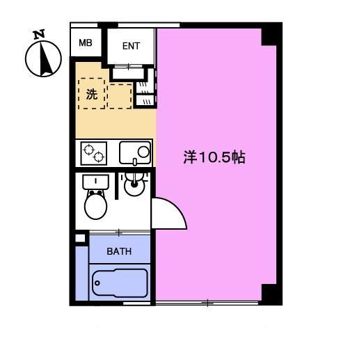 【募集】エトワールイスミ 302号室
