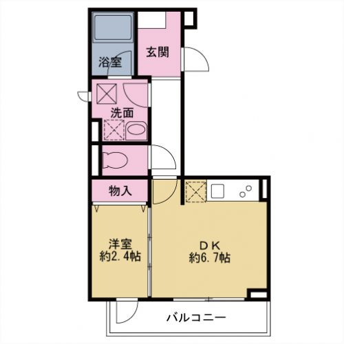 【募集】アンフィニグラン 102号室
