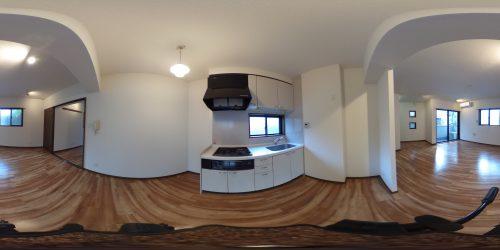 レジェーロ西麻布 202号室 360°写真(2)