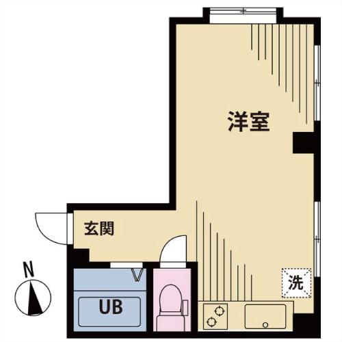 【募集】第三月凰ビル 203号室