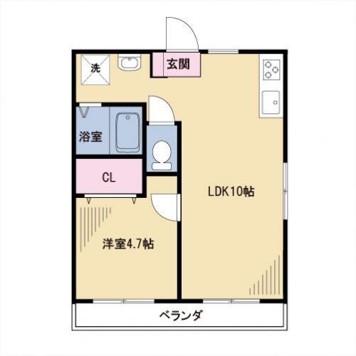 【募集】グランデッサ代沢 304号室