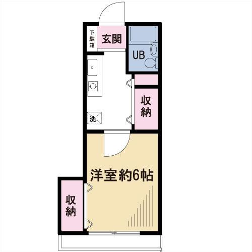 【募集】アベル北沢 102号室