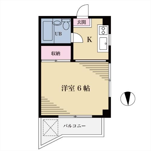 【募集】アネックス阿川 201号室