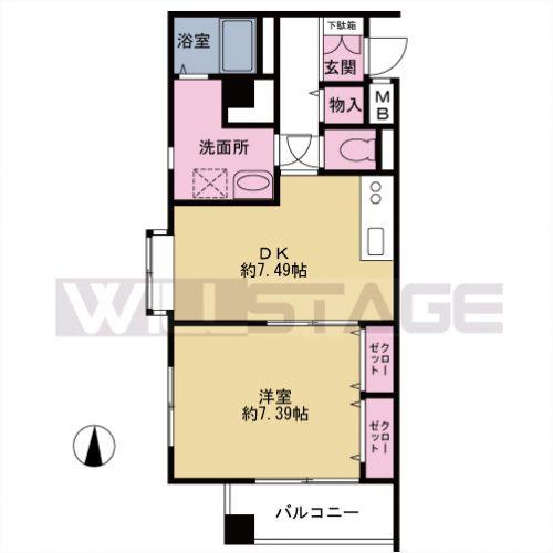 【募集】セイボリー淡島 103号室