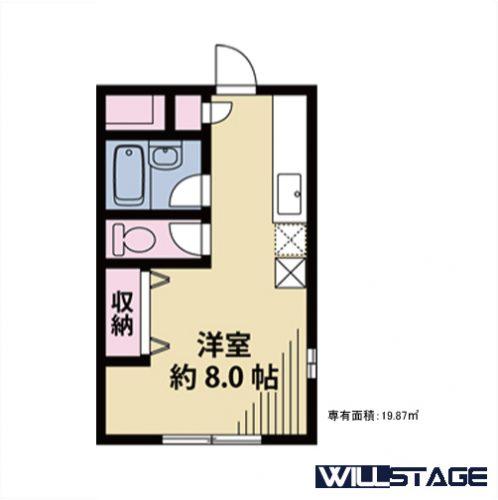【募集】シュトラーセ 201号室
