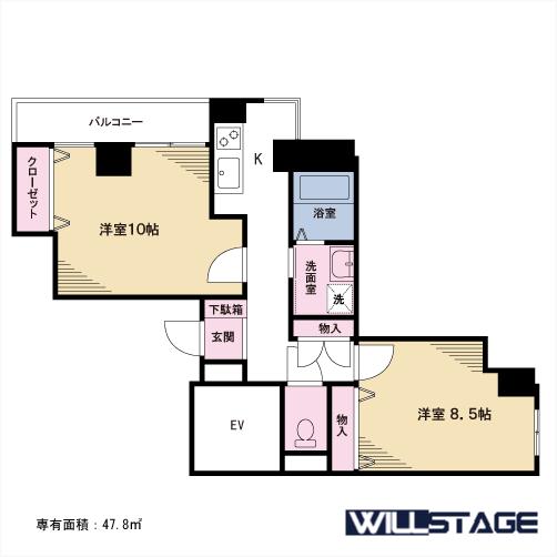【募集】守山マンション 301号室