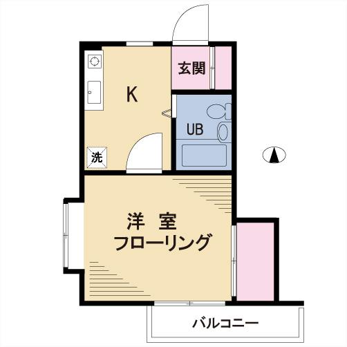 【募集】アベル北沢 201号室