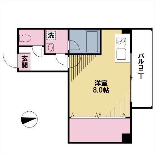 【募集】グラシア阿川 202号室