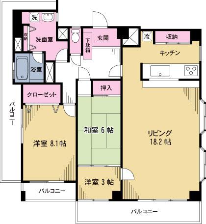 【募集】セイボリー淡島 401号室