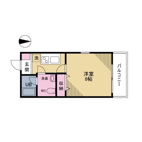 グラシア阿川 301号室