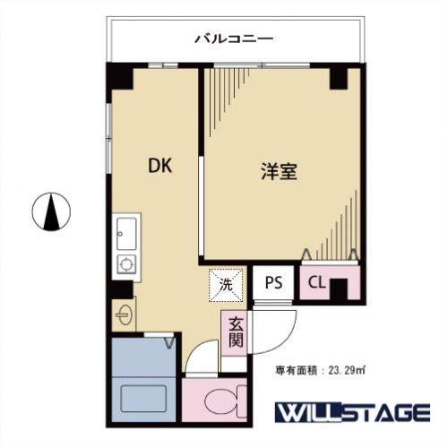 【募集】月村第二光ビル 401号室