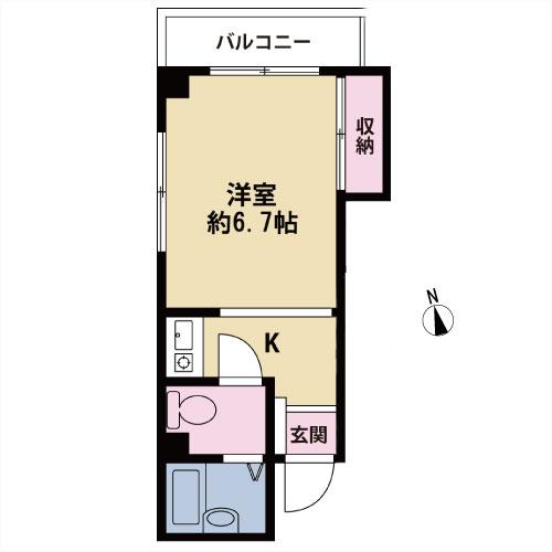 【募集準備中】月村第二光ビル 201号室