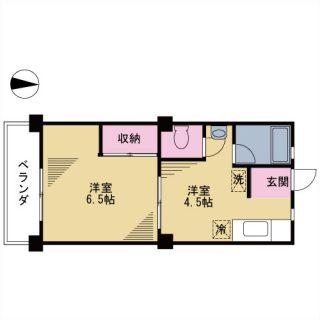 前田マンション 102号室