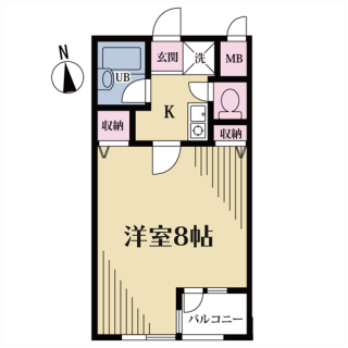 クオーレ代沢 102号室